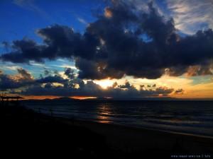 Die letzte Sonne am Kyllini Beach - Greece
