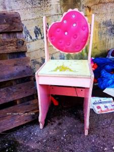 Der ehemalige Prinzessinen-Stuhl - nahe Neochori – Greece
