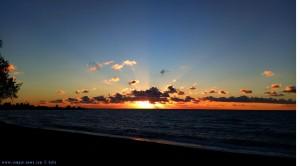 Sunset at Kalo Nero Beach – Greece