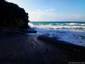 Grosse Wellen heute am Diros Beach – Greece