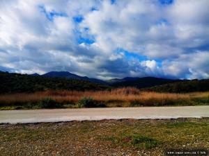Schon wieder dicke fette Wolken am Kamares Beach – Greece