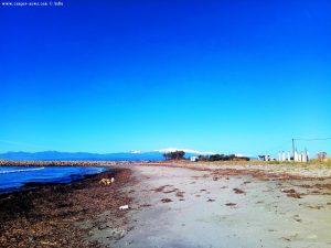 Parking at Vivari Beach - Unnamed Road - Kokkinia – Greece - January 2019