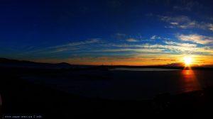 Sunset at Vivari Beach – Greece