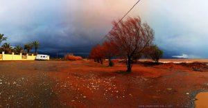 Das nächste Gewitter kommt bestimmt - Avramiou Beach – Greece