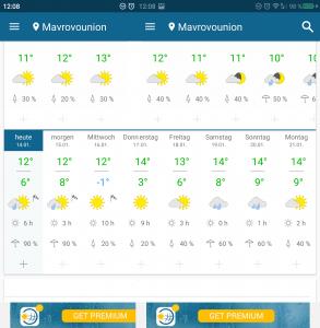 Unsere Wetter-Prognose für die nächste Woche