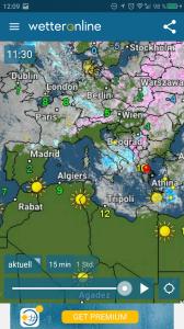Wetter Europa – Spanien und Portugal sonnig!