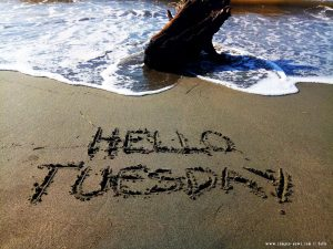 Hello Tuesday - Vivari Beach – Greece