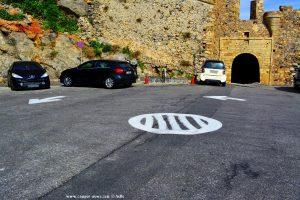 Kreisverkehr vor Monemvasia – Greece