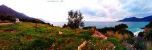 Kaffee-Pause bei Poulithra – Greece