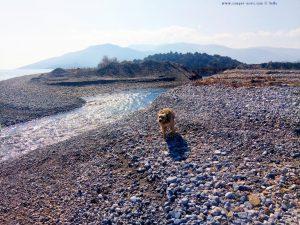 Geschafft - wir sind drüben - Cheronisi Beach – Greece