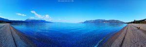Mit Nicol beim Spaziergang - Metamorfosi Beach – Greece