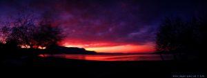 Abendrot am Metamorfosi Beach – Greece