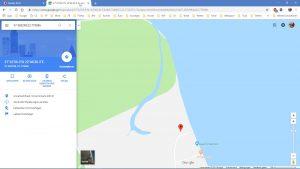 Der mysteriöse Fluss – GoogleMaps Karte