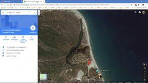 Der mysteriöse Fluss – GoogleMaps Karte Satelit
