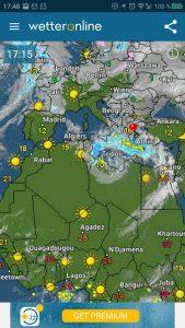Wetter Europa – Spanien und Portugal wieder ohne Wolken!