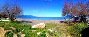 Kleine Wäsche am Metamorfosi Beach - Greece