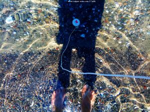 15°C Wassertemperatur am Metamorfosi Beach – Greece