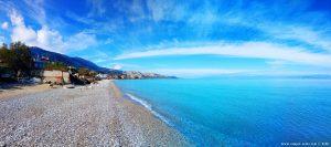Mit Nicol auf Spaziergang - Kamari – Greece