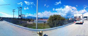 Auf dem Parkplatz bei Lidl in Patra – Greece