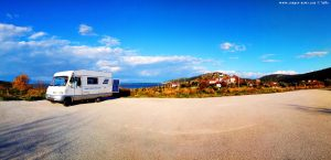 Parking in Cape Araxos - Unnamed Road - Akrotiri Araksou – Greece