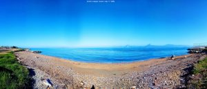 My view today - Paralia bei Patras – Greece