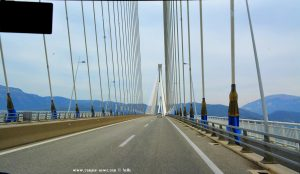 Charilaos Trikoupis Bridge - Patras – Greece