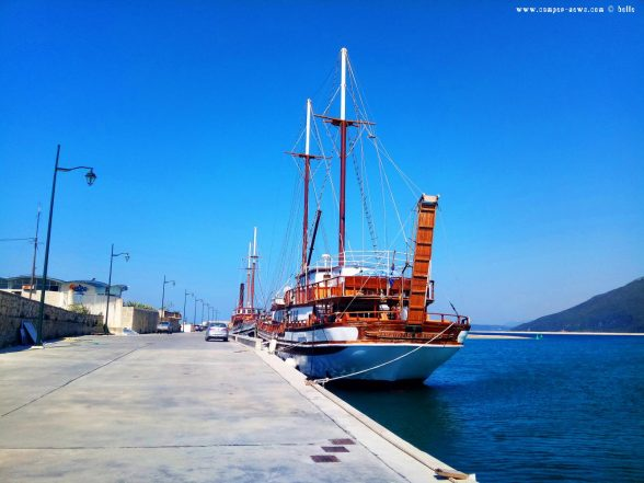 Kaffee-Pause kurz vor Lefkada - Greece