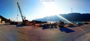 Parking at the Sunwaves Beach - EO Lefkas - Vasilikis - Vasiliki – Greece