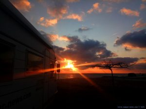 Sunset at Kanali Beach - Greece