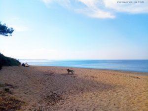 Mit Nicol auf Spaziergang - Kanali Beach – Greece<