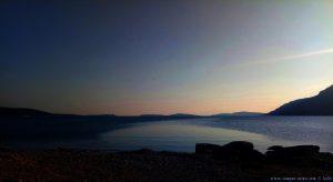 Afterglow in Astakos – Greece