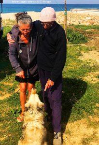 Das Team von Camper-News auf einem Bild - Kanali Beach – Greece