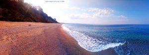 Mit Nicol auf Spaziergang - Kanali Beach – Greece