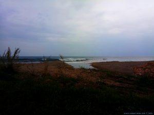 Grosse Wellen heute am Kanali Beach – Greece