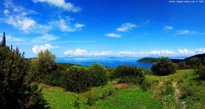 Panorama-View auf Anaktorio – Greece