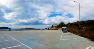 Parking in Pachi – Greece