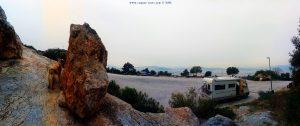 Parking at the Lykavitto Theatro - Athina Greece