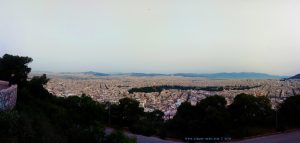 My View today - Lykavitto Theatro - Athina – Greece
