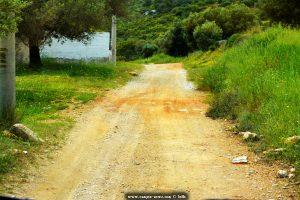 Wieder mal auf Schotterstrassen unterwegs - bei Sesi – Greece