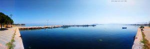 Kleiner Hafen in Livanates – Greece