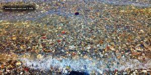 Kirstallklares Wasser und Qualle in Akti – Greece