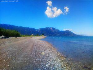 Nicol scheucht die Möwen auf - Akti – Greece