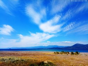 Interessante Wolken in Akti – Greece