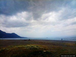 Schon wieder dicke fette Wolken in Akti – Greece