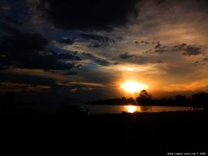 Sunset in Cap Drepano – Greece