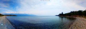 Erste Bucht hier nahe Amarilidos Beach – Greece