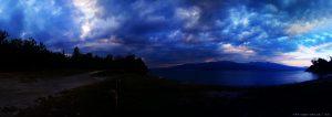 Wolken ziehen auf - Amarilidos Beach - Greece