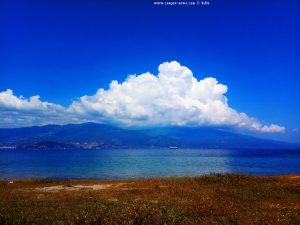 Imposante Wolke über Vólos und Agria – Greece