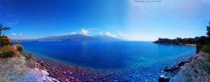 Aussicht beim Spaziergang - Amarilidos Beach – Greece