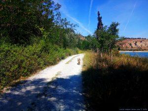 Mit Nicol auf Spaziergang - Amarilidos Beach – Greece